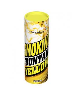 цветной дым в Астрахани (Желтый)